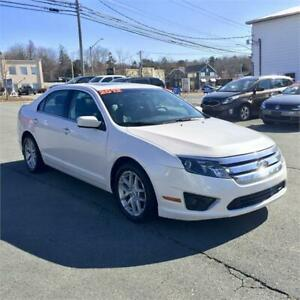 2012 Ford Fusion SEL w/bluetooth/leather/remote start/sunroof