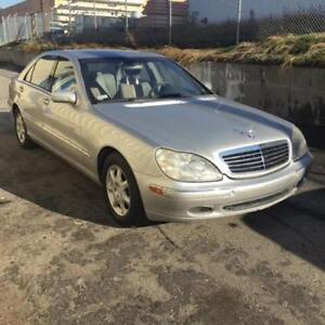 2001 Mercedes-Benz S-Class S500 *Must Sell, Low Kms, CHEAP ! ***