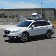 2017 Subaru Outback B6A MY17 2.5i CVT AWD White 6 Speed Constant Variable Wagon Run-o-waters Goulburn City Preview