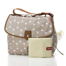 Babymel Satchel Jumbo Dot Fawn Baby Nappy Bag Williamtown Port Stephens Area Preview