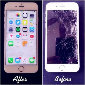 Fix Crack/Broken IPad and Iphone 4S/5/5C/5S/6/6s LCDs - $50