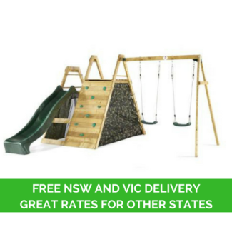 Plum Climbing Pyramid Play Centre Free Delivery to NSW, VIC