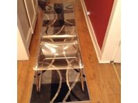 Perspex chairs