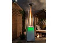 Tahiti LED Flame Gas Patio Heater