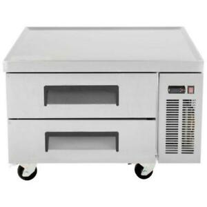 """2 Drawer Refrigerated Chef Base 52"""" *RESTAURANT EQUIPMENT PARTS SMALLWARES HOODS AND MORE*"""