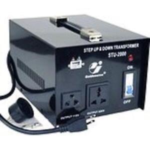 VOLTAGE CONVERTER / VOLTAGE TRANSFORMER  220V-110V / 110V-220V STEP UP STEP DOWN 500WATT FOR $39.99