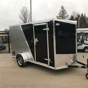 2018 HAULIN ENCLOSED CARGO TRAILER 6X12 RAMP DOOR PLATINUM PKG