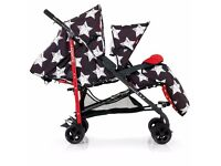 BRAND NEW, NEVER BEEN OUTSIDE COSATTO TANDEM STROLLER