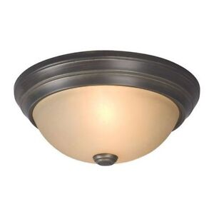 3 matching flush mount ceiling lights all for $30