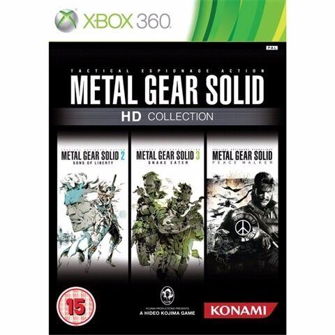 Metal Gear Solid HD Collection +inc Peacewalker hd