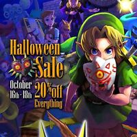 Video Game Halloween Sale