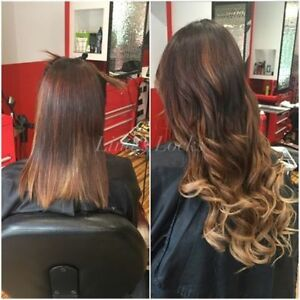 LINA'S LOCKS HAIR EXTENSIONS Fusion | Tape | Microlinks | Nano London Ontario image 3