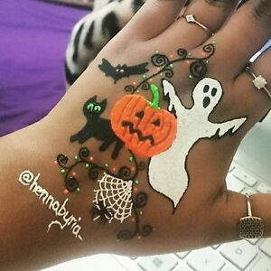 halloween henna tattoo/heena tatto/ tattoo/mehandi tattoo Regina Regina Area image 2