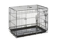 Medium 'Dogs Life' dog crate 76cm x 48 x 55cm RRP £40