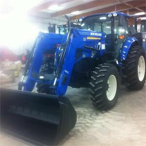 2015 NEW HOLLAND TS6.120 MFWD TRACTOR  c/w 835TL LOADER