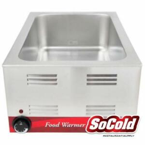 12 x 20 Electric Countertop Food Warmer - 120V, Steam Table *RESTAURANT EQUIPMENT PARTS SMALLWARES HOODS AND MORE*