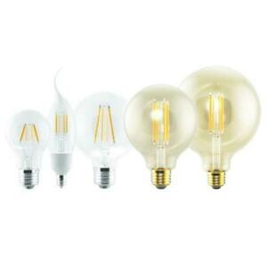 LED Filament lamps - 21 Styles to choose from