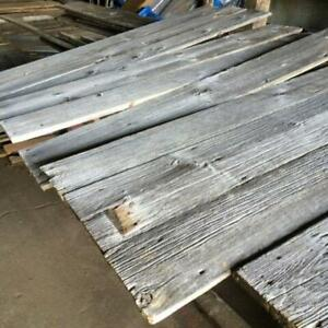 reclaimed antique wood from multiple, century barns