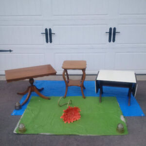 Antique Stool, Shelf, Drop Leaf Table + More *SEE EACH PRICE* -