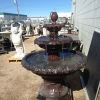 Fall Sale Fountains-Benches-Statues +more on Millar ave/45th st
