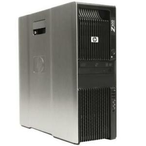 HP Z600 workstation tower 2 X cpu QC 2.8gz / 16gb / 500gb Mint Condition $600