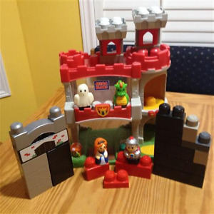 Mega Bloks Lego Castle Building Sets