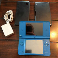 Nintendo DSI XL with Metal Case