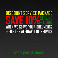Sleuth Process Server | All Attempts Recorded in HD!