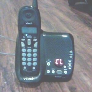 VTech cordless phone with built in answering machine