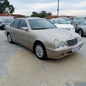 2000 Mercedes-Benz E320 W210 Elegance Gold 5 Speed Sports Automatic Sedan St James Victoria Park Area Preview