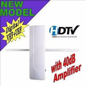 Eaglestar Pro 53-6165VA Digital Indoor/Outdoor HDTV TV Antenna with Built-in Power Amplifier