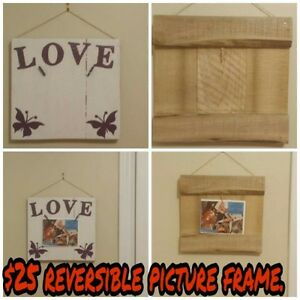 Reversible Picture Frame