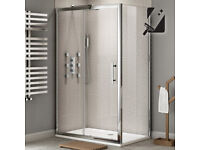 Shower Enclosure and Base 1200 x 900mm - Brand New, still packaged