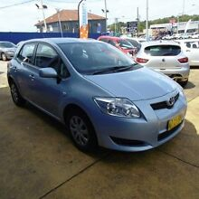 2007 Toyota Corolla ZRE152R Ascent Light Blue 4 Speed Automatic Hatchback Croydon Burwood Area Preview