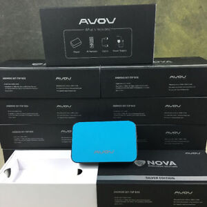 AVOV TV ONLINE + (SILVER EDITION) ANDROID SET TOP BOX IPTV READY