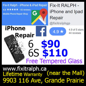 ⭐ iPhone Screen & Battery Repair 5 5S SE 6 6+ 6S 6S+ 7 7+ iPad