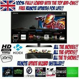 ANDROID TV BOX ✔ FULLY LOADED ✔ LATEST KODI ✔ FULL SKY TV ✔ 3PM KICK OFFS ✔ FREE UPDATES