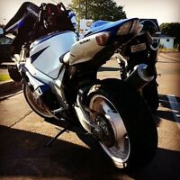 GSXR 750 for sale or trade for car or sled