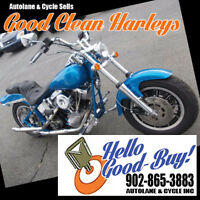 1986 Custom Harley Softail with Shovelhead motor KOOL SCOOT! Bedford Halifax Preview