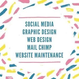 Social Media Marketing and Graphic Design Services MailChimp Kitchener / Waterloo Kitchener Area image 1