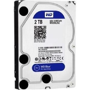 "Western Digital Blue 2TB - 3.5"" - SATA-600 - 5400RPM - 64MB Cach"