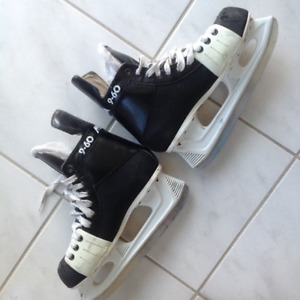 "SKATES---""MICRON 9-60""---in great shape--skates are like new-$20"