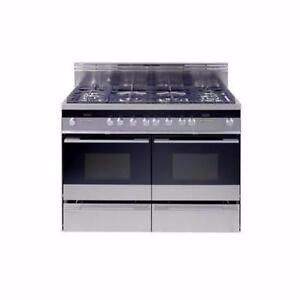 48'' Fisher & Paykel dual fuel range, with 2 convection ovens - STAINLESS