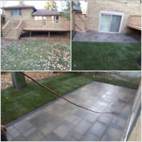 ($12 square ft) INTERLOCKING, DRIVEWAY, PATIO (FALL SPECIALS)I