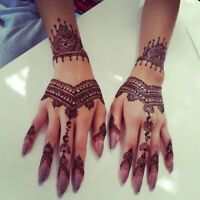 Elegant Beautiful Professional henna body Tattoo artist