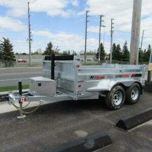Galvanized Dump Trailers - Canadian Made