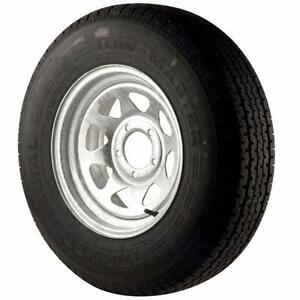 Trailer Tires and Rim Packages Galvanized