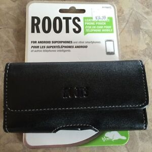 New Roots Leather Phone Belt Clip for iPhone 5 or Android