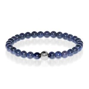 50% OFF All Jewellery - Energy | Silver Essence Blue Sand Stone Bracelet