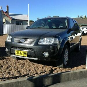 2007 Ford Territory SY Ghia AWD Grey 6 Speed Sports Automatic Wagon Raymond Terrace Port Stephens Area Preview